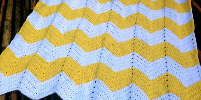 Crochet Chevron Baby Blanket Free Free Crochet Blanket Patterns