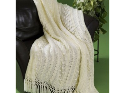 Aran Free Crochet Blanket Patterns