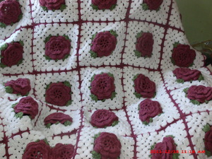 Many Roses Afghan to Crochet Free Patterns and Ideas ...