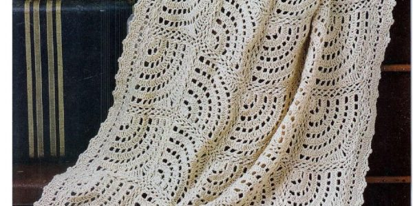 Swirling Fans Crochet Blanket Pattern Free